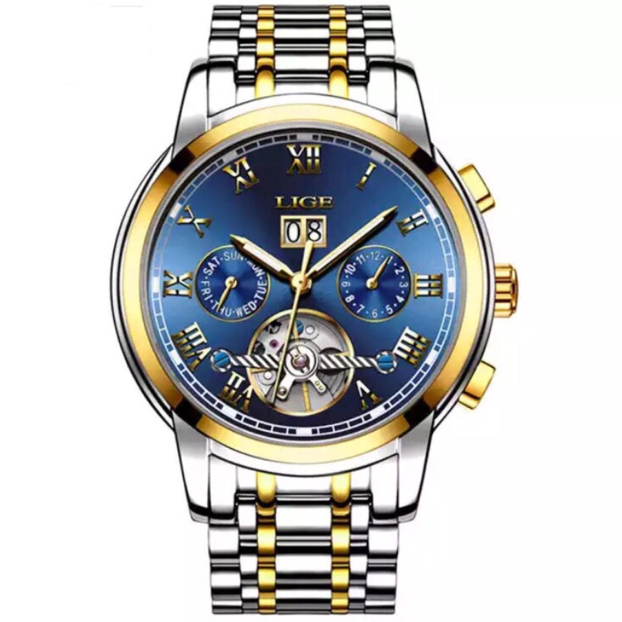 products gold classy business lige watches watch